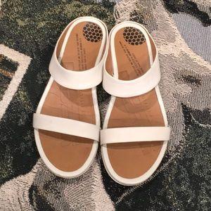 Fitflop genuine leather sandels